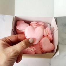 Heart Shaped Macarons - Box of 10